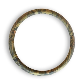 Magnetic Grill Badge Holder Trim Ring Camo