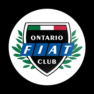 Magnetic Car Grille Dome Badge-Ontario FIAT Club
