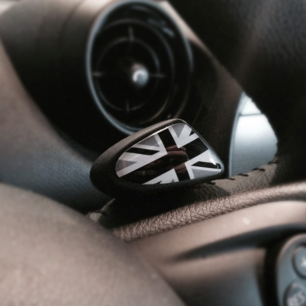 Mini Cooper Paddle Shifter Badges Larger Photo Email A Friend