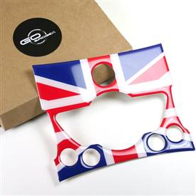 MINI Cooper R56,R57,R58,R59,R60,R61 Radio Badge in Unionjack